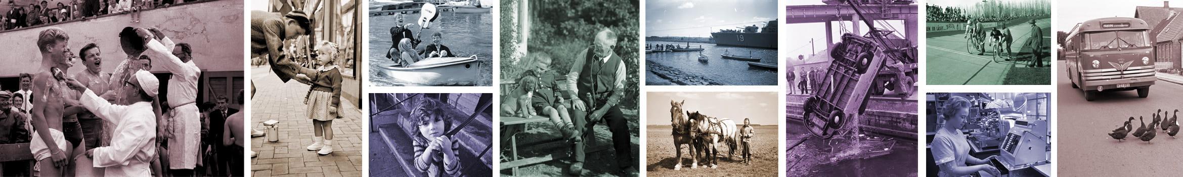 Historiske billeder fra samlingen
