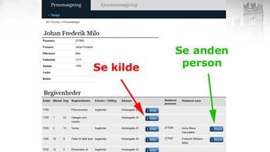 Odensedatabasen: Person