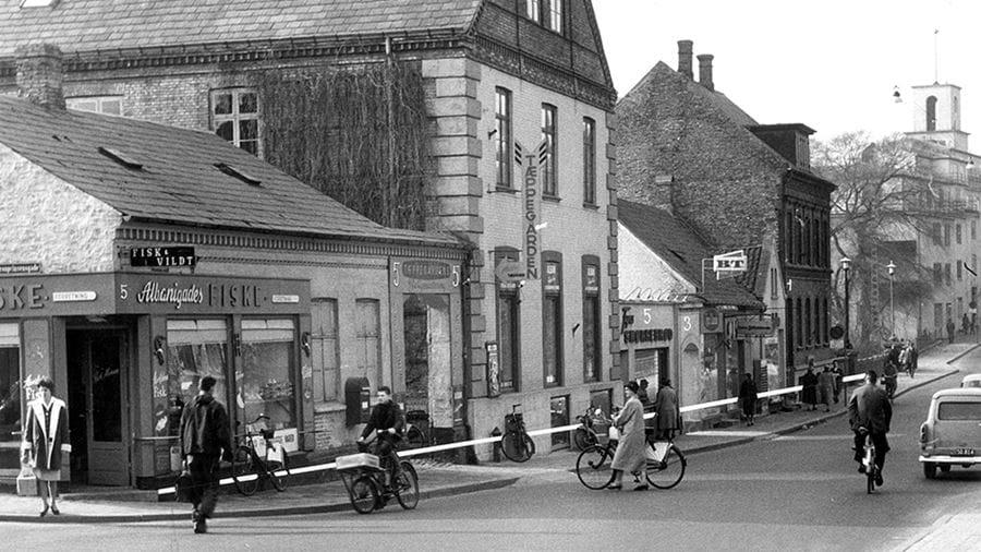 Om Odense: Albanigade 1968